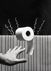 (VonLiviu) Tags: blackandwhite bw film shootfilm shotonfilm buyfilmnotmegapixels kodak tmax tmax400 studio chicago chicagophotography stilllife advertising ad spec specad art fineart 120 120mm mediumformat zeiss zeissoptics hasselblad 500c hasselbladv surrealism surreal geometry shapes creative imagination moody dark studiophotography mundane daily life needs everyday indoors monochrome hc110 hc110b v600 scary horror toiletpaper tp nature reaching
