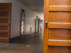 Open Doors (repete7) Tags: weston westvirginia unitedstates us door transalleghenylunaticasylum hall westonstatehospital abandoned