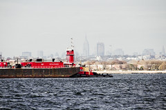r_171114461_beat0075_a (Mitch Waxman) Tags: brooklyn citywideferry gerritsenbay jamaicabay newyorkcity newyorkcityskyline newyorkharbor queens tugboat newyork
