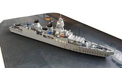 German Frigate Hessen F-221 (Locutus666) Tags: lego frigate hessen f221 scale 1144