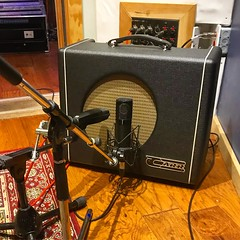 Amped Up (Pennan_Brae) Tags: microphones microphone musicphotography music recordingstudio guitaramplifier guitaramp musicstudio recording amp amplifier