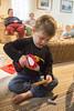 Screwdriving (quinn.anya) Tags: sam preschooler screwdriver powertool toy playing batman construction