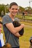 Puppy hugs (radargeek) Tags: homesteadheritage homesteadfair 2016 waco texas tx puppy dog hug