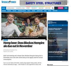 East_9th_Brewing_Hempire_Herald_Sun (benjaminbcairns) Tags: herald sun melbourne australia hemp beer east 9th brewing doss blockos hempire weekly times ale innovation benjamin cairns josh lefers stephen wools