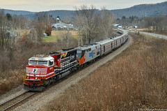 Stallion street (Arkangel Productions) Tags: norfolk southern amtrak ns 044 dh southline 911 sd60e honoring first responders