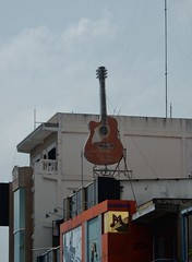 M for Music (mikecogh) Tags: phnompenh m music shop guitar novelty promotion