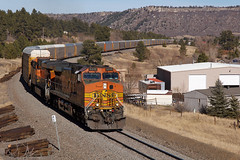 BNSF 5315 Larkspur 2 Dec 17 (AK Ween) Tags: bnsf bnsf5315 larkspur colorado jointline biglift train railroad ge generalelectric c449w