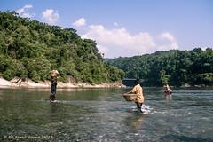 | FIGHTER KIDS OF JAFLONG | (iam_aanwar) Tags: bangladesh sylhet nature jaflong water photography landscape sky blue green yellow people