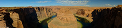 horseshoe bend pano (brian eagar - very busy - not much time to comment) Tags: arizona coloradoriver desert red redrocks sandstone redsandstone river horseshoebend canyon cliff view landscape scene scenery