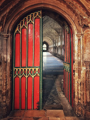 gloucestercathedral gloucestercathedralcloisters... (Photo: Milesofgadgets  on Flickr)
