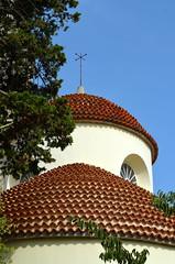 Gospe Od Andjela [Velj Losjni - 10 August 2017] (Doc. Ing.) Tags: 2017 losinj croatia summer seaside velilosinj church gospeodandjela kvarnergulf kvarner roof rooftop
