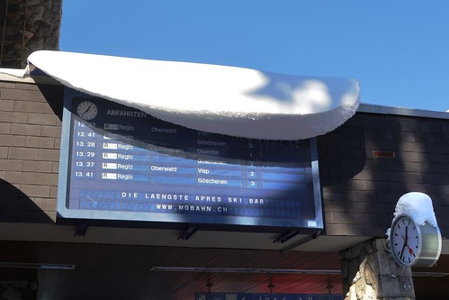 Andermatt - Station Matterhorn Gotthard Bahn