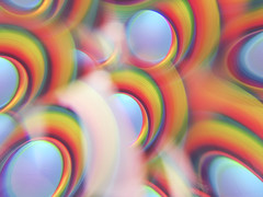 multiplicity... (CatMacBride) Tags: multiplicity many rainbows colourful crystal sam samsunggalaxys8