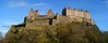 Edinburgh Castle from the West (WISEBUYS21) Tags: edinburgh castle city panorama cityscape citycentre central kings scotland king queen extinct volcano arthurs seat hill cliff top panoramic favourite faves lanscape mary blue sky green trees princess street sony rock face north wisebuys21 barracks fortified house royal 6th november 2017 06112017