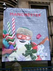 HAPPY CHRISTMAS MANCHESTER = manchester.gov.uk/Christmas (rossendale2016) Tags: 2018 2017 paper wrapping wrapped ribbons coloured striped bow replica replicating depicting like funny humorous red pink optical opticians spectacles glasses giving crafts handade celebrating festivities council city manchestergovukchristmas far near world everyone all season festive wishes best smiling character cartoon year new december winter snow music carols chorister hymns joyous cards presents wenceslas king xmas greetings seasons father europe kingdom united england lancashire manchester from christmas happy