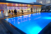 Rooftop Pool (Sandra Leidholdt) Tags: hotel swimmingpool rooftop bar evening people barcelona spain sandraleidholdt europe catalonia pool plaçadespanya españa espanya
