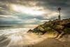 End of the groyne (The 1 Big Cheese) Tags: hengistburyhead groyne sea sky clouds sand 09ndgrad polariser rocks canonef1635mmf4lisusm leefilters