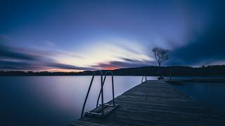 November dusk