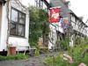 Tewksbury (daveknight1946) Tags: sundaylights flowers tewkesbury flags bench seat oldhouses greatphotographers