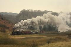 Goods train (feroequineologist) Tags: 44806 lms black5 northyorkshiremoorsrailway nymr railway train steam