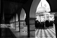 Interior view of the great Mosque in Akre city, in Kurdistan Region. 30 November 2017. Gailan Haji-57- IMG_1177 (Gailan Haji) Tags: architecturephotography photojournalism photojournalist press monochrome monochrom blackandwhite blackwhite bw fullframe fullfram canon5dmarkiii 5dmarkiii markiii canon 35mm ef35mm japancamerahunter storytelling akre kurdistan city mosque muslims islamic lighting travel tourism tourests tourest kurd oldplace iraq middle architecture building arch