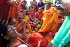 The Celebration of Tulsi Vivah (Bradbury Lense) Tags: ceremony hindu tulsi tulsivivah vishnu vrinda wedding women