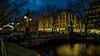 The lights are on (Norbert Clausen) Tags: thebluehour blue hour blaue stunde giradet brücke bridge kö