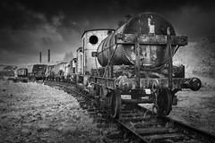 Choo Choo (Billy Currie) Tags: train steam coach track iron industrial engine dunaskin infrared scotland