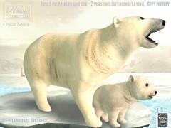 │T│L│C│@ The Cosmopolitan until Dec 16 (- TRUE & LAUTLOS CREATIONS -) Tags: cosmopoliatn event biweekly tlc mesh animated animal store sl secondlife polar bear cub