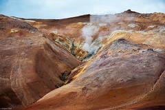 Living Earth / Námafjall - Iceland (Toine B.) Tags: earth solfatare namafjall iceland islande landscape paysage nikon d750 sigma 70200 mountain montagne sulfures myvatn norðurland eystra