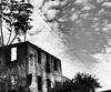 Roma, praticamente centro (lu.una) Tags: street italy clouds sky blackandwhite oldbuilding sanlorenzo rome