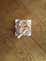 Coffee Break (Austin_Ferrari) Tags: coffee new england boston cape cod capecod symmetry symmetrical art artwork wood lines ice cold square geometry geometric photo photography iphone capture condensation adobe lightroom centered nikon nikon5500 5500