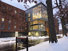 The Living Learning Commons (2015) (austindodgephotography) Tags: keenenh keene keenestatecollege keenestate ksc cheshirecounty newhampshire nh newengland snow trees road street wymanway college campus uni dorm dorms dormitory building studenthousing winter modern architecture architektur architectuur
