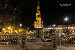 Plaza of Spain :: Seville .. (Francis Minini (On-Off)) Tags: nocturnas