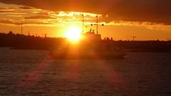 20170721 (70) Suomenlinna Sveaborg Viapori Suokki Helsinki Helsingfors Suomi Finland (Frabjous Daze) Tags: helsinki helsingfors stadi suomi finland finlandia europeanunion suomenlinna sveaborg viapori suokki suomenlinnanlautta lautta ferry färja auringonlasku sundown sunset