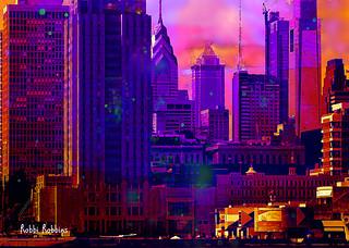 Philly Fall Skyline