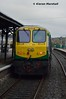 223 departs Mallow, 14/10/17 (hurricanemk1c) Tags: railways railway train trains irish rail irishrail iarnród éireann iarnródéireann 2017 generalmotors gm emd 201 223 1020corkheuston mallow
