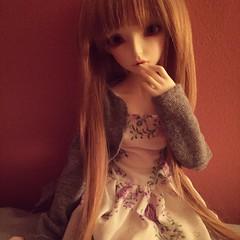 Layla (xvictoriamargaretx) Tags: abjd bjd ball jointed doll balljointeddoll cp dolls fairyland liria layla msd minifee mnf minifeeliria fairylandminifee