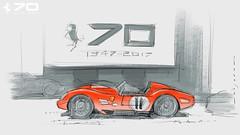 F Testarossa s (Stefan Marjoram) Tags: sketch drawing ipad pro procreate apple pencil car vintage racing plein air