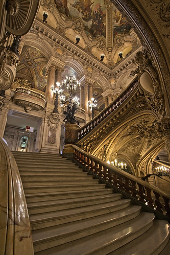 Staircase at Opera Garnier, Paris