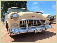 Chevrolet 210, 1955 (v8dub) Tags: chevrolet 210 1955 chevy bel air schweiz suisse switzerland neuchâtel american gm pkw voiture car wagen worldcars auto automobile automotive old oldtimer oldcar klassik classic collector v8