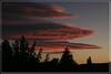 Touchant couchant (Pi-F) Tags: nuage ciel rouge orange soir couchant soleil horizon ombre provence couleur texture