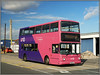 UNO 281, Harvey Reeves Road (Jason 87030) Tags: uno uon uni university bus everyone harveyreevesroad 2017 19 sn51sye doubledecker alx400 color colour pink purple sixfields edgarmobbsway town northants northamptonshire sony alpha a6000 ilce nex lens tag flickr uk england parkcampus