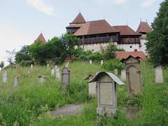 Saxon Cemetery (D-Stanley) Tags: saxon germans fortified church viscri romania