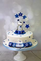Blue Baby Bear Cake (toertlifee) Tags: törtlifee cake kuchen kids kinder blau blue boy geschenk geburtstag birthday