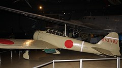 Mitsubishi Nakajima A6M2 Reisen (Zero) at Wright-Patterson (J.Comstedt) Tags: national museum usaf air force aircraft aviation aeroplane wright patterson dayton ohio usa mitsubishi nakajima a6m zero reisen naval marine japan japanese