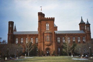 Washington DC - The Smithsonian Institution Building - Main Entrance ~ Historic