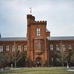 Washington DC - The Smithsonian Institution Building - Main Entrance ~ Historic thumbnail
