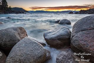 Secret Cove Sunset