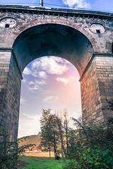 Borovnica - Jelen railroad viaduct (rlubej) Tags: notranjska railroad bridges colors